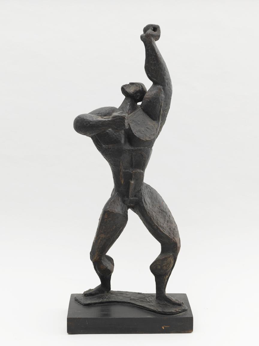 Jupiter (Male figure with raised fist)